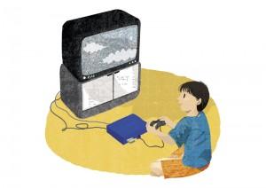 ゲーム依存症のイメージ