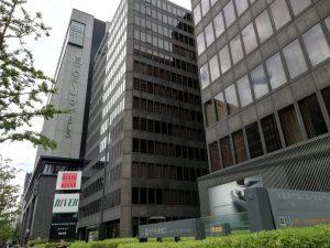 大阪御堂筋ビルと南御堂(エクセルホテル東急)